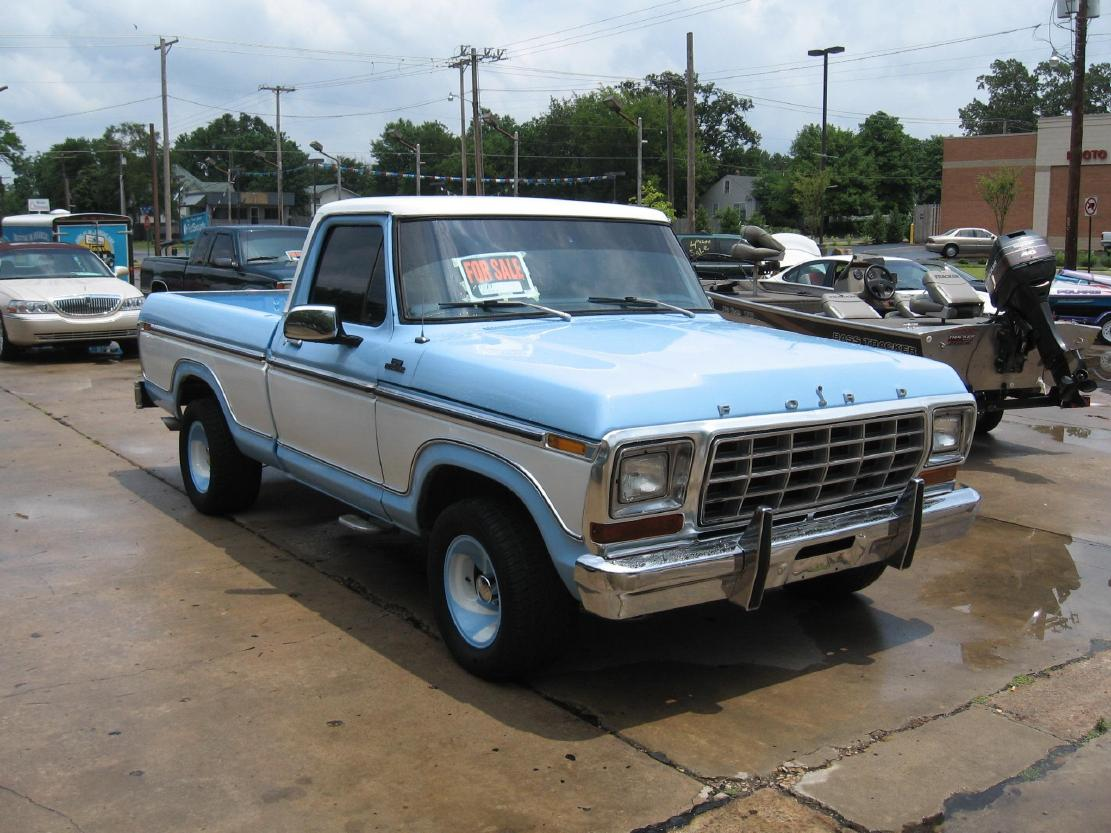 1968 Ford F100 For Sale Craigslist >> Vintage Ford Truck Pickups Searcy, AR